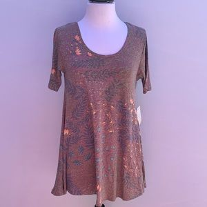 LULAROE Scoop Neck Top Size XXS